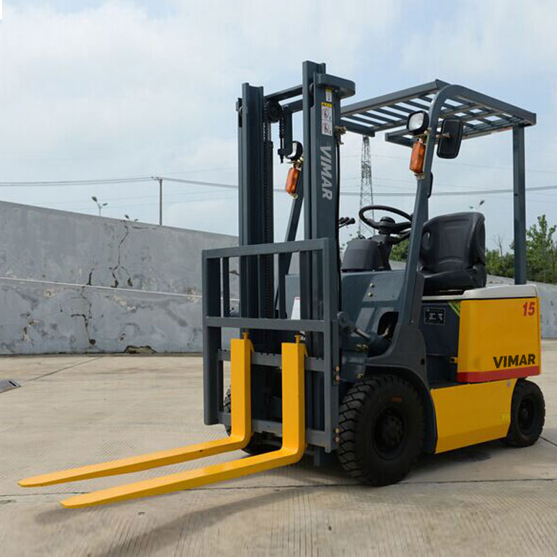 1 0 1 5t Four Wheel Ac Electric Forklift