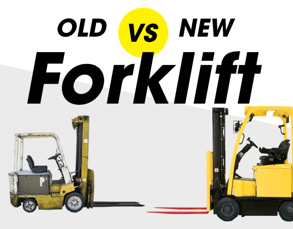 Old vs New Forklift