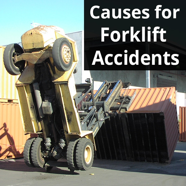 causes for forklift accidents