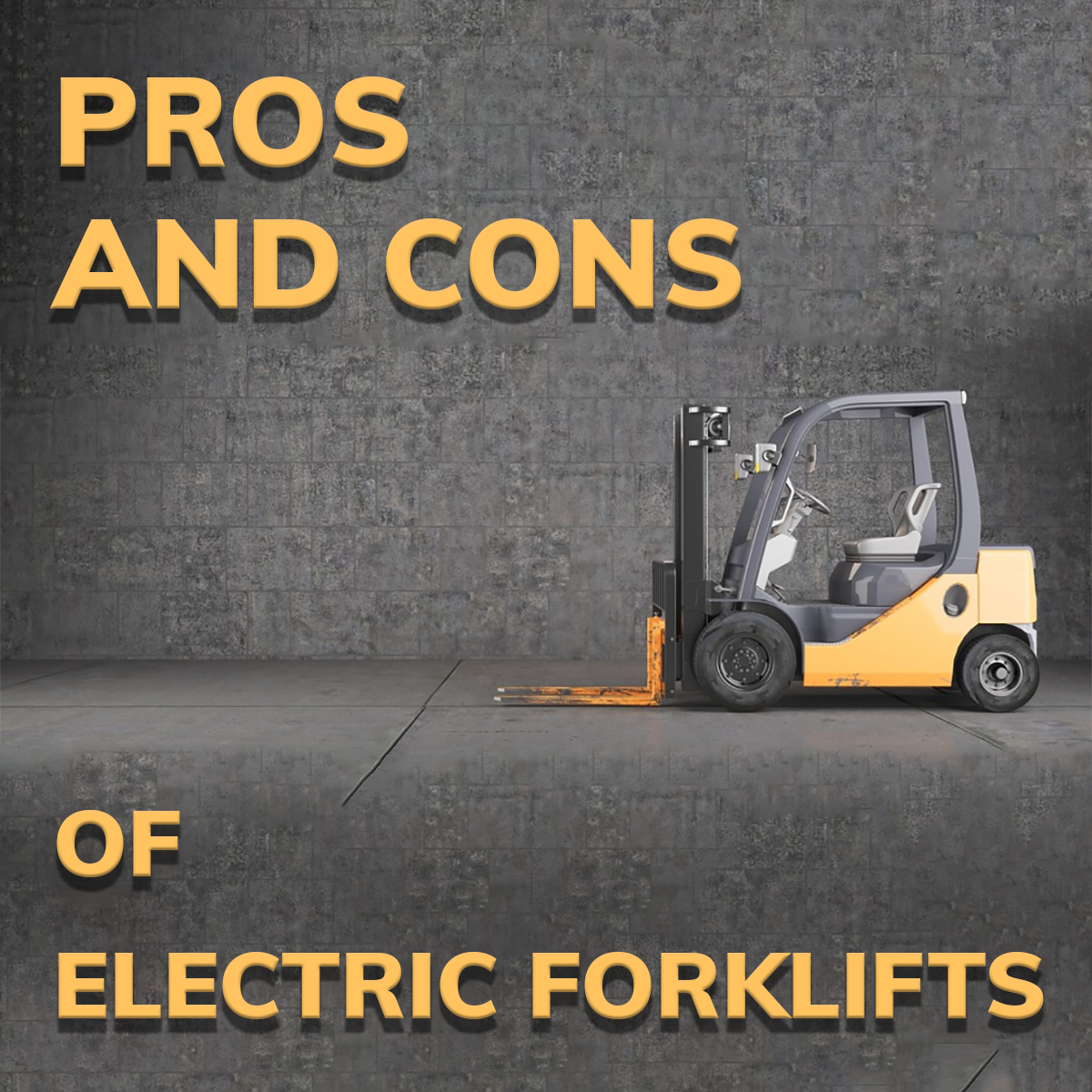 The Pros and Cons of Electric Forklifts