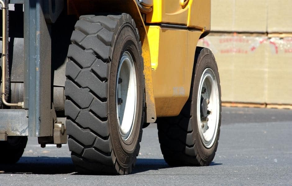 ATF Forklifts - Analyze the tires